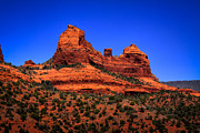 David Patterson Posters - Sedona Rock Formations Poster by David Patterson