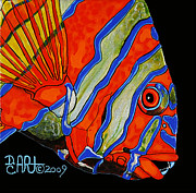 Debbie Chamberlin Posters - See You Sea Me Poster by Debbie Chamberlin