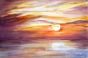 See You Painting Framed Prints - See you tomorrow 2 Framed Print by Betty M M   Wong