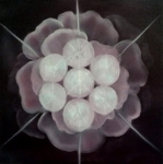 Star Burst Paintings - Seed of Life by Kamalika Djehuti Cyndi Bartlett