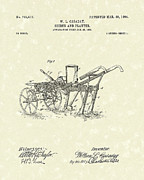 Farming Drawings - Seeder/Planter 1904 Patent Art by Prior Art Design