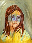 Sad Pastels Originals - Seeing all. by Kat Mckown