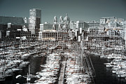 Multiple Exposures Prints - Seeing Double in the Port Print by John Rizzuto