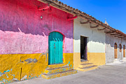 Overhang Photo Prints - Seeing Pink In Latin America - Granada Print by Mark E Tisdale