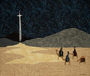 Sand Tapestries - Textiles - Seeking Him by Anita Jacques