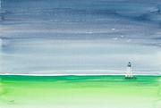 Michelle Wiarda - Seeking Refuge Before the Storm Alligator Reef Lighthouse