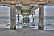 Beach Scenery Prints - Seeking Shelter From The Sun Print by Heidi Smith