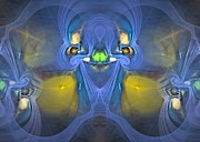 Imagination Digital Art Originals - Seer - Surrealism by Sipo Liimatainen