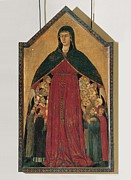 Citizens Framed Prints - Segna Di Bonaventura, Our Lady Framed Print by Everett