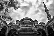 Sinan Framed Prints - Sehzade Mosque 04 Framed Print by Antony McAulay