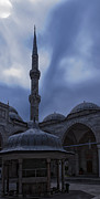 Moonlit Night Photos - Sehzade Mosque at night by Antony McAulay