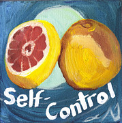 Self-control Framed Prints - Self-Control Framed Print by Amber Joy Eifler