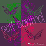 Self-control Framed Prints - Self Control Framed Print by Michelle Benjamin