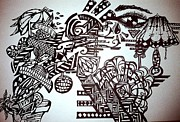Disco Drawings - Self Expression by Zephaniah Dacanay