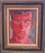 Vern Henry Smith - Self Portrait as Red...