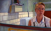 Ruth Sievers - Self portrait at...