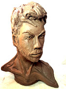 John Gholson - Self Portrait Clay