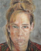 Skill Paintings - Self Portrait by Timi Johnson