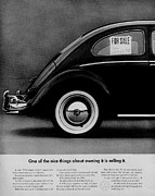 Vw Beetle Framed Prints - Selling It Framed Print by Benjamin Yeager