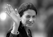 Government Photo Prints - Senator Olympia Jean Snowe Print by Bob Orsillo