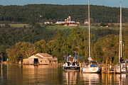 Evening Light Prints - Seneca Harbor Print by Bill  Wakeley