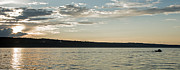 Boaters Prints - Seneca Lake Living Print by Photographic Arts And Design Studio