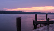 Dusk Photos - Seneca Lake New York - After Sunset by Photographic Arts And Design Studio