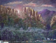 West Virginia Pastels - Seneca Sunrise by Bruce Schrader