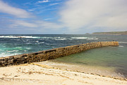 Cape Cornwall Prints - Sennen Cove Cornwall Print by Terri  Waters