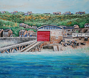 Sennen Cove Prints - Sennen Cove Print by Diane Griffiths