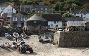 Habor Prints - Sennen Cove Print by Linsey Williams