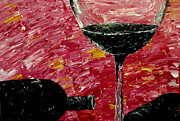 Wine Pouring Prints - Sensual illusions  Print by Mark Moore
