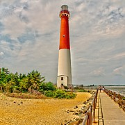 Barnegat Framed Prints - Sentinel at Barnegat Framed Print by Nick Zelinsky