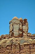 Sentinels Prints - Sentinels in Arches National Park Print by Bruce Gourley