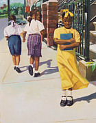 African American Paintings - Separate Ways by Colin Bootman