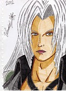 Final Drawings - Sephiroth by Wendel Krolis