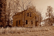 Dilapidated Houses Photos - Sepiabandoned by Claude Oesterreicher