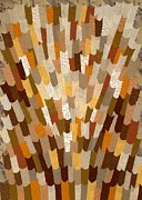 Autumn Art Tapestries - Textiles Posters - September Poster by Jean Baardsen