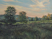 Gregory Arnett Paintings - September Meadow by Gregory Arnett