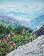 National Park Paintings - Sequoia National Park by Irina Sztukowski