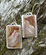 Arianna Bara - Serape Jasper Earrings