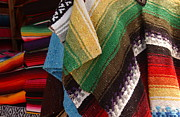 Poncho Photos - Serapes for Sale - Old Town San Diego by Anna Lisa Yoder
