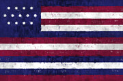 Serapis Flag Print by World Art Prints And Designs