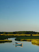 Fishing Creek Photo Posters - Serene Cape Cod Poster by Juergen Roth