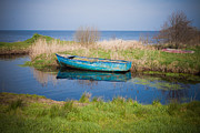 Neagh Prints - Serene Lough Neagh Print by Barry McQueen