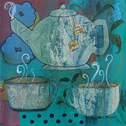 Serene Tea Print by Robin Maria  Pedrero