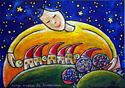 Rhyme Originals - Serene The Full Moon Rises by Raffaella Di Vaio