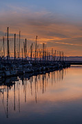 Evening Photos - Serene Waters by Mike Reid
