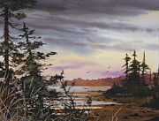 Natural Painting Originals - Serene Wilderness by James Williamson