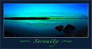 Affirmation Prints - Serenity 2 Print by ABeautifulSky  Photography